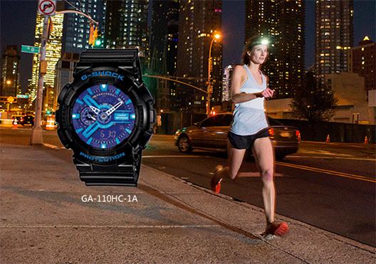 夜跑专业手表