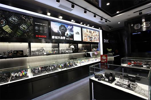 卡西欧中国首家高端店