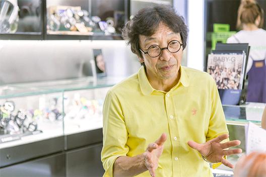 伊部菊雄谈卡西欧手表