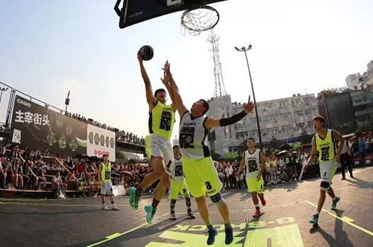 卡西欧主宰街头篮球赛