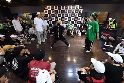 卡西欧G-SHOCK街舞比赛