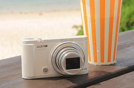 卡西欧数码相机银色