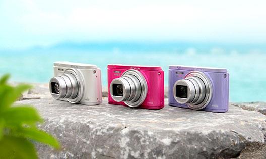 三款卡西欧数码相机