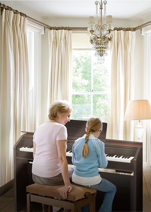 谈卡西欧电子钢琴