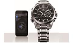 卡西欧官方商城 卡西欧手表EDIFICE艾迪斐斯  推出新一代蓝牙智能腕表EQB-510