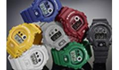 卡西欧官方商城 玩色街头时尚  卡西欧手表 GD-X6900HT缤纷来袭