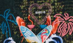 卡西欧官方商城 带你独家窥探一场 BABY-G 的泳池派对