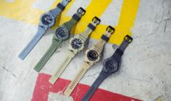 卡西欧官方商城 G-SHOCK防震运动手表,蓝牙和计步器buff加成