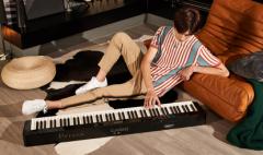 卡西欧官方商城 表演级时尚电钢琴,新Privia机身更纤薄
