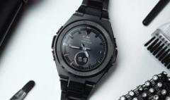 卡西欧官方商城 雅酷黑BABY-G卡西欧女士手表,沉稳优雅显气场