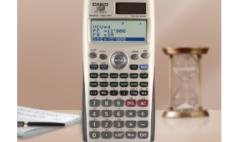 卡西欧官方商城 利刃出鞘,卡西欧计算器助力金融理财师事半功倍