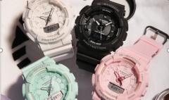 卡西欧官方商城 男女通吃的G-SHOCK运动手表,在夜跑时贴心为你服务