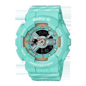 卡西欧手表 BABY-G CHANCE系列 防震防水运动女表BA-110CH