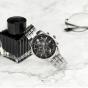 卡西欧手表 EDIFICE  人造蓝宝石玻璃镜面 太阳能动力 防水商务男表EFB-610SBD