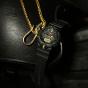 卡西欧手表 G-SHOCK  哑光黑金 防震防水高亮度LED运动男表GA-810B