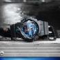 卡西欧手表 G-SHOCK  银蓝配色防水防震高亮度LED照明运动男表GA-810