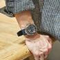 卡西欧手表 G-SHOCK  中型尺寸G-STEEL街头户外风格三层复合表带六局电波太阳能动力防水防震运动男表GST-W330AC