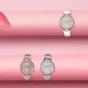 卡西欧手表 SHEEN  中国区限定 人造蓝宝石玻璃镜面 防水优雅女表SHE-3514CGL-7AUPR