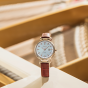 卡西欧手表 SHEEN  中国区限定 太阳能人造蓝宝石玻璃镜面 防水优雅女表SHS-4524CGL-7APR