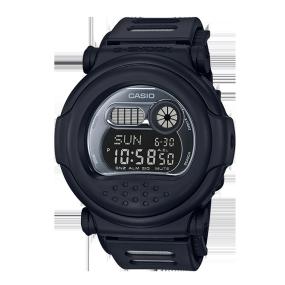 卡西欧手表 G-SHOCK 全黑配色复刻版经典系列设计 防水防震运动男表G-001BB-1PR