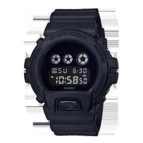 卡西欧手表 G-SHOCK 【新品】全黑配色复刻版经典系列设计 防水防震运动男表DW-6900BBA-1PR