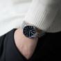 卡西欧手表 EDIFICE  人造蓝宝石玻璃镜面太阳能动力电池电量提醒功能 防水商务男表EFB-630SBD