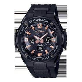 卡西欧手表 G-SHOCK 【新品】G-STEEL系列 钻石点缀 防水防震太阳能六局电波商务男表GST-W310BDD-1APR