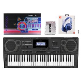 卡西欧电子乐器 电子琴 【新品】JBL联名礼盒 专业级别演奏键盘 舞台演奏键盘 中国曲风专业电子琴CT-X5100
