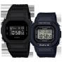 卡西欧手表 对表系列  DW-5600BB-1PR&BGD-560-1PR