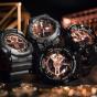 卡西欧手表 G-SHOCK  玫瑰金配色经典系列设计 防水防震运动男表GA-110MMC/700MMC
