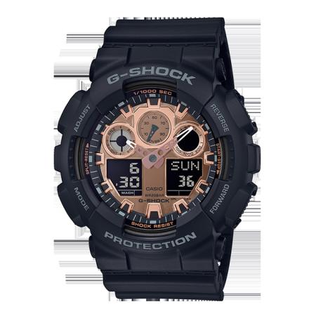 卡西欧手表 G-SHOCK 【新品】玫瑰金配色经典系列设计 防水防震运动男表GA-100MMC/800MMC