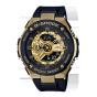 卡西欧手表 G-SHOCK  黑金经典配色复合表盘G-STEEL 防震防磁防水运动男表GST-400G-1A9PR