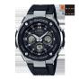 卡西欧手表 G-SHOCK  G-STEEL M系列 电波太阳能防水商务休闲男表GST-W300