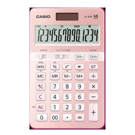 卡西欧计算器 日常商务 电子计算器  时尚办公 14位JS-40B