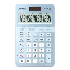 卡西欧计算器 日常商务 【?;ㄗㄊ舳ㄖ?只樱有你】电子计算器  时尚办公 14位JS-40B
