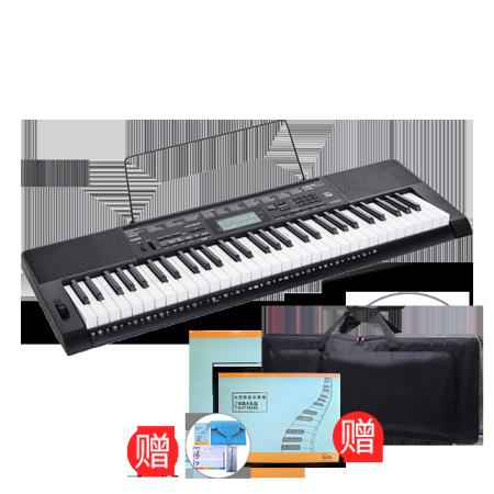卡西欧电子乐器 电子琴 升级版教学考级电子琴CTK-3500 成人儿童适用 智能APP教学 5种和弦演奏