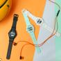 卡西欧手表 BABY-G  薄款 沙滩生活主题 防水防震运动女表BAX-100
