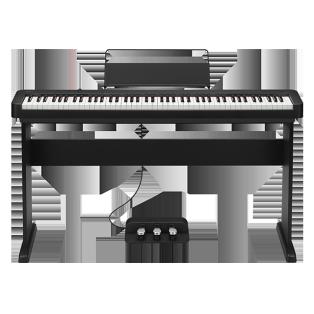 卡西欧电子乐器 电钢琴 三角钢琴音效 初学入门便携电钢琴双钢琴模式(含琴架+三踏板)EP-S120