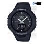 卡西欧手表 BABY-G  哑光质感配色防水防震蓝牙连接计步运动女表BSA-B100