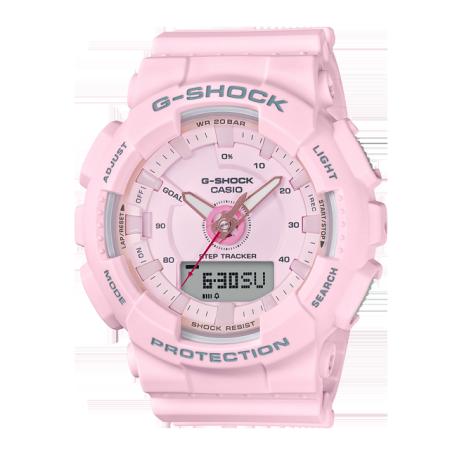 卡西欧手表 G-SHOCK S系列 计步器功能防水运动手表GMA-S130