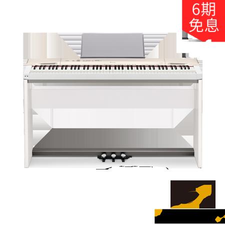 卡西欧电子乐器 电钢琴 时尚个性电钢琴PX-160 官方套装(包含琴架、踏板)