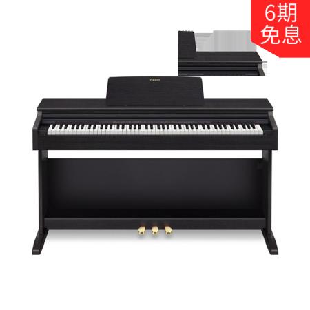 卡西欧电子乐器 电钢琴 88键重锤立式家用成人专业电子数码钢琴AP-270