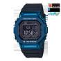卡西欧手表 G-SHOCK  防震防水六局电波太阳能动力运动男表GMW-B5000G