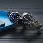 卡西欧手表 EDIFICE  简约设计  防水人造蓝宝石玻璃镜面商务男表EFB-106
