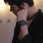 卡西欧手表 EDIFICE  经典设计 防水人造蓝宝石玻璃镜面商务男表EFB-660
