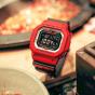 卡西欧手表 G-SHOCK  硬碰硬主题 火锅特别款 经典红黑搭配 防水防震GW-M5610RB-4PRHP