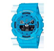卡西欧手表 G-SHOCK 【新品】与摇滚文化的结合  防水防震功能表款 GA-100RS