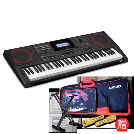 卡西欧电子乐器 电子琴 成人初学入门舞台演奏专业电子琴CT-X5000
