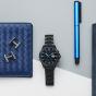 卡西欧手表 EDIFICE  人造蓝宝石玻璃时尚商务男士防水手表EFB-509