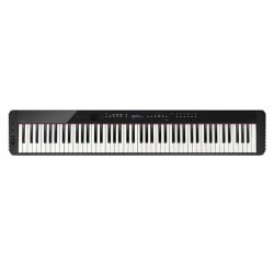 卡西欧电子乐器 电钢琴 【新品】纤薄时尚智能个性电钢琴 三角钢琴音效便携不插电电钢琴 多重演奏功能舞台表演级电钢琴PX-S3000BK(单机版)